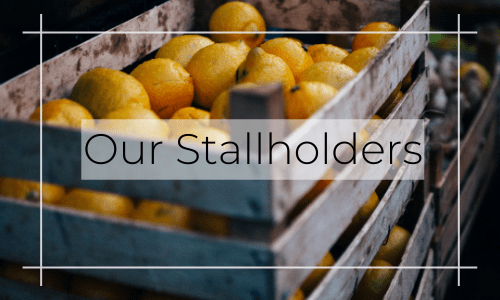 our stallholders have got you covered